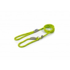 Ancol Viva Slip Lead - Reflective Lime