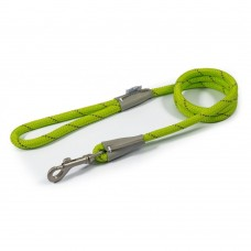Ancol Viva Rope Lead - Reflective Lime