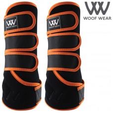 Woof Wear Dressage Wraps - Orange