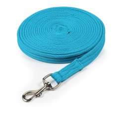 Shires Wessex Cushion Web Lunge Line - Blue
