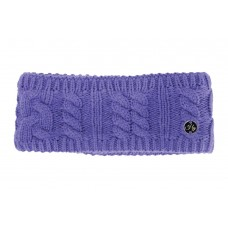 Hyfashion Merible Cable Knit Head Band - Ultra Violet