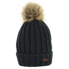 HyFashion Turin Bobble Hat - Black