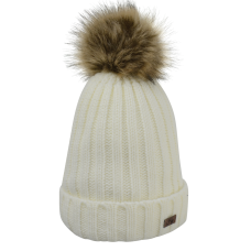 HyFashion Turin Bobble Hat - White