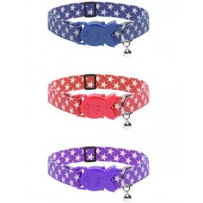 James and Steel Star Cat Collar