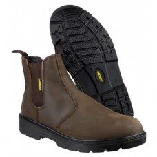 Amblers Dealer Safety Boots in Brown