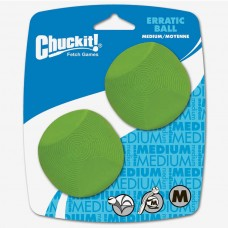 Chuckit! Erratic Ball 2 pack