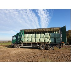 Square High Fibre Ryegrass Haylage Bales - 250kg