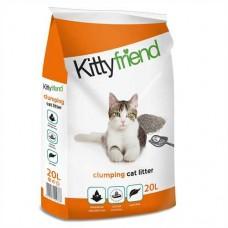 Kitty Friend Tidy Cat Clumping Cat Litter 20L