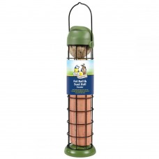 Walter Harrison's Flip Top Fat/Suet Ball & Roll Feeder (two sizes available)