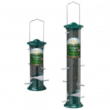 Walter Harrison's Green Die Cast Nyger Feeder (two sizes available)