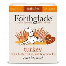 Forthglade Complete Grain Free Senior, Butternut Squash & Turkey 395g