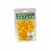 Poultry Leg Rings Yellow single – 18mm