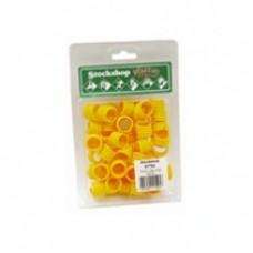 Poultry Leg Rings Yellow single –18mm