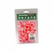 Poultry Leg Rings  Pink single – 16mm