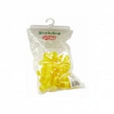 Poultry Leg Ring Yellow  single–20mm