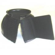 Velcro Overreach Boots Brown