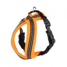 Animate Soft Nylon Orange LED Harness 50cm
