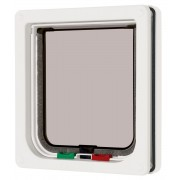 Cat Mate 4way Locking Cat Flap White