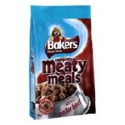Bakers Meaty Meals Beef - 3Kg