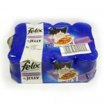 Felix Tins Chunks in Jelly 12x100g x 2 cases