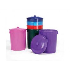 Dustbin Plastic – 65L (Available in different colours)