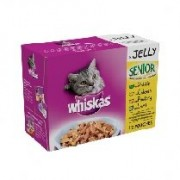 Whiskas Pouch Senior Jelly - 12 x 100g