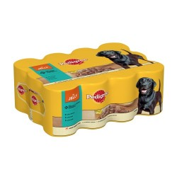 Pedigree Mixed Variety Tins in Jelly (12x385g)