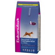 Eukanuba Mature&Senior Small/Medium Breed - 15Kg
