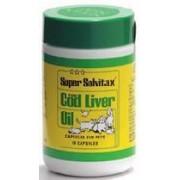 Super Solvitax Cod Liver Oil Capsules x 90