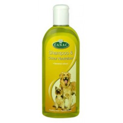 Canac Dog Shampoo & Odour Neutraliser – 250ml