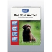 Sherleys 1 dose Puppy Wormer 6 tab