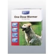 Sherleys 1 dose Dog Wormer x 4 tab