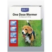 Sherleys 1 dose Dog Wormer x 2 tab