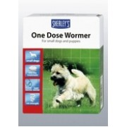 Sherleys 1dose Small Dog Wormer 3 tab