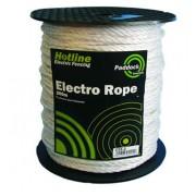 Hotline Rope Paddock White – 5mmx200m