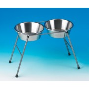 "Classic Twin High Stand for 2x8"" Dishes"
