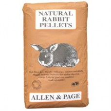 Allen & Page Rabbit Natural Pellet 20kg