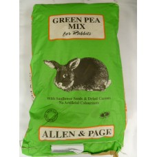 Allen & Page Rabbit Green Pea  (Available in 2 sizes)