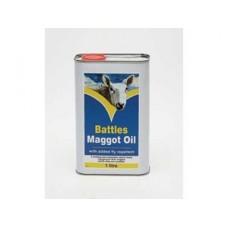 Battles Maggot Oil