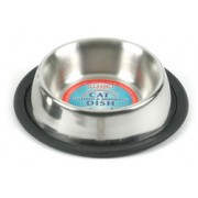 Stainless Steel Bowl  Non Tip Cat/Small Puppy Bowl