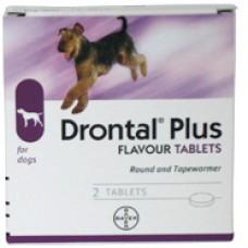 Drontal Dog Bone Shape - 2 pack*