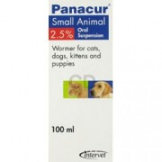 Panacur Cat & Dog 10% Liquid – 100ml*