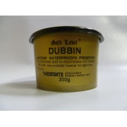 Gold Label Dubbin Black – 200g