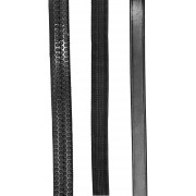 Rubber Reins - Black