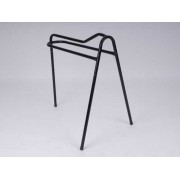 Three Leg Saddle Rack Tall Black