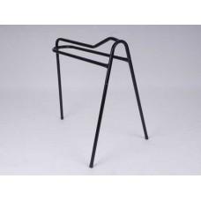 Three Leg Saddle Rack Tall Black