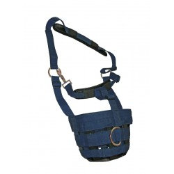 Comfort Nylon Grazing Mask Navy  (available in 4 sizes)