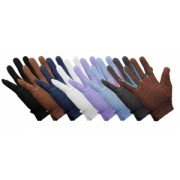 Grip Fast Cotton Gloves Black (available in 5 sizes)