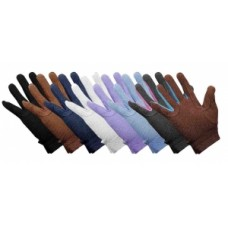 Grip Fast Cotton Gloves Navy (available in 5 sizes)