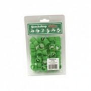 Hen Leg Ring Green Single – 16mm